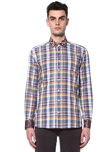 Etro Ekoseli Uzun Kollu Gömlek Renkli